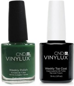 Creative Nail Design Vinylux Palm Deco Nail Polish & Top Coat (Two Items), 0.5-oz, from Purebeauty Salon & Spa
