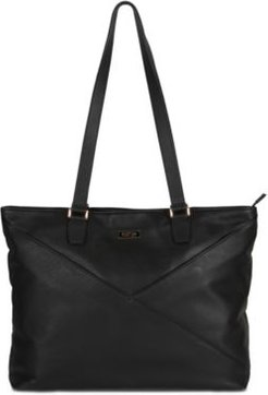 """McGote 15"""" Leather Computer Business Tote"""