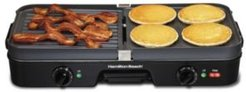 Dual Zone Grill and Griddle