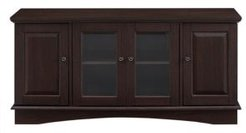 """52"""" Wood Tv Media Stand Storage Console"""
