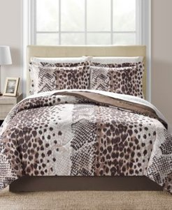 Congo Reversible 8-Pc. King Comforter Set Bedding