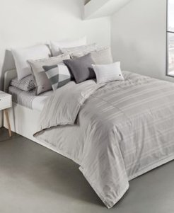 Sideline Cotton 2-Pc. Dobby Stripe Twin/Twin Xl Duvet Cover Set, Created for Macy's Bedding