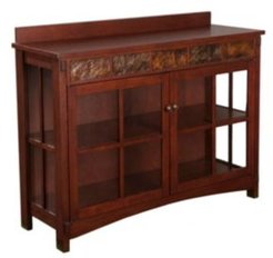 Camino Mission Sideboard and Display Curio