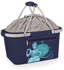 Oniva by Picnic Time Disney's Cinderella Metro Basket Collapsible Cooler Tote