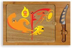 Toscana by Picnic Time Disney's The Incredibles Icon Cutting Board