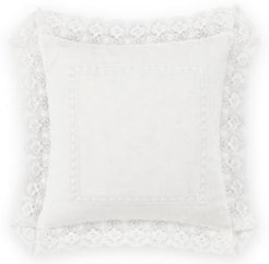 Annabella White Square Pillow Bedding