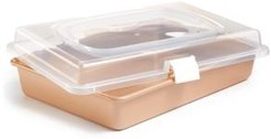 Champagne Rectangular Pan & Cover, Created for Macy's