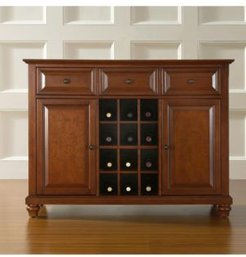 Cambridge Buffet Server Sideboard Cabinet With Wine Storage