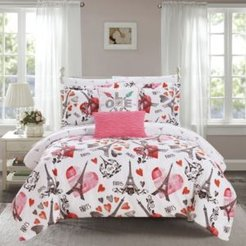 Le Marias 7 Piece Twin Bed In a Bag Comforter Set Bedding