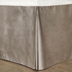 Colors Cotton Bed Skirt, King Bedding