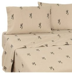 Browning Country Full Sheet Set Bedding