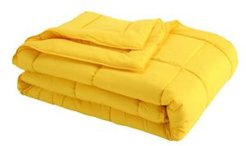 Down Alternative Blanket With Microfiber Cover and Water and Stain Resistance Bedding