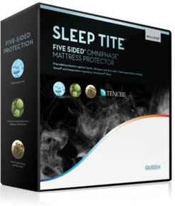 Sleep Tite 5-Sided Mattress Protector with Omniphase and Tencel - Full