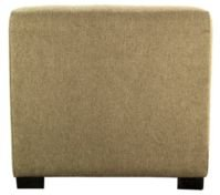 Merton Button Tufted Upholstered Square Ottoman
