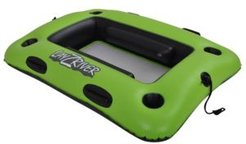 """Sports Lazy River 44"""" X 33"""" Inflatable Swim Cooler Float"""