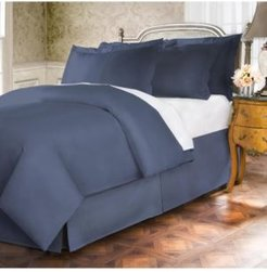 Belles and Whistles Premium 400 Thread Count Cotton Extra Long Twin Bed Skirt Bedding