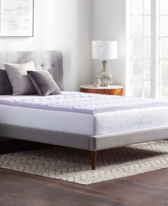 Dream Collection by Lucid 5-Zone Lavender Memory Foam Mattress Topper, Queen