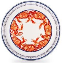 """Crab House Enamelware Collection 15.5"""" Serving Tray"""