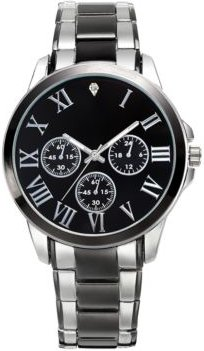 Inc Men's Two-Tone Watch & Bracelet 42mm Gift Set, Created for Macy's