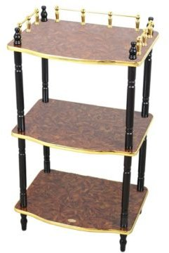 3-Tier Telephone Table, Small Book Shelf, Accent Side and End Table