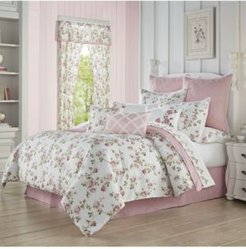 Rosemary Rose Queen 4pc. Comforter Set Bedding