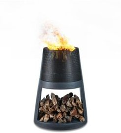 Danya B. Outdoor Conic Wood Burning Faux Stone Fire Pit