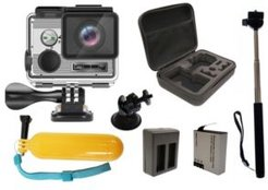 Super Bundle True 4K Action Camera with Accessories