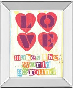 """Must Be Love I by Tom Frazier Mirror Framed Print Wall Art, 22"""" x 26"""""""