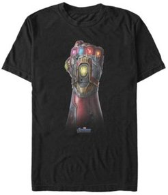 Avengers Endgame Iron Man Gauntlet Up Close, Short Sleeve T-shirt