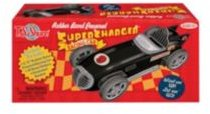 Rubber Band Powered Supercharger Racing Car Kit