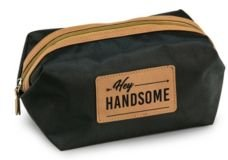 Hey Handsome Performance Nylon Dopp Kit with Saddle Accents