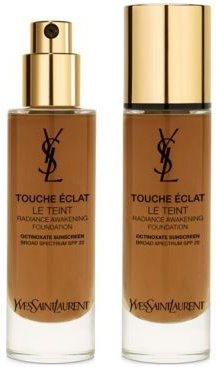 Touche Eclat Natural Radiant Liquid Foundation with Spf 22, 1 oz.