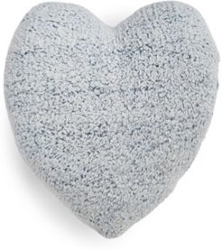 Closeout! Whim by Martha Stewart Collection Sherpa Heart Decorative Pillow, Created for Macy's Bedding