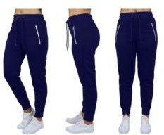 Loose Fit Jogger Pants With Zipper Pockets