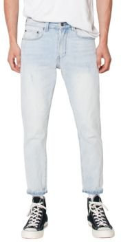 Lightweight Cropped Slim Fit Jeans
