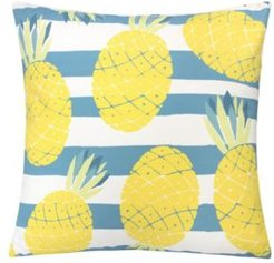 Pineapple Stripe Outdoor Pillow