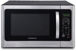 Professional FMO12AHTBKE 1.2 Cu. Ft. 1100-Watt Microwave Oven with Sensor Cooking, Stainless Steel/Black Body Wrap