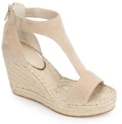 Olivia T Strap Wedges Women's Shoes