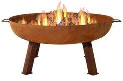 Cast Iron Outdoor Fire Pit Bowl