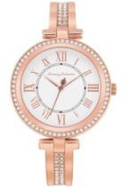 Palm Beach Rose Gold Stainless Steel Bangle Watch, 36mm