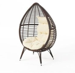 Cutter Teardrop Lounge Chair with Cushion