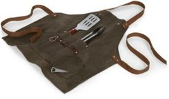 Legacy by Picnic Time Bbq Apron with Tools & Bottle Opener