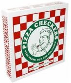 Fun Supreme Pizza Checkers Board Game