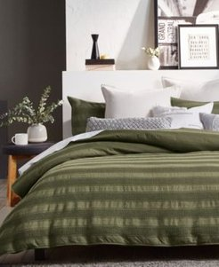 Avenue Stripe Full/Queen Duvet Set Bedding