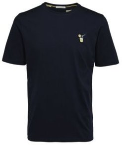 Embroidered Short Sleeve T-shirt