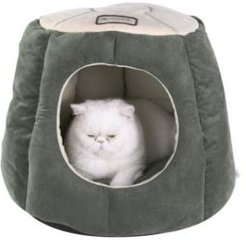 Cat Cave Shape Anti- Slip Waterproof Base Bed