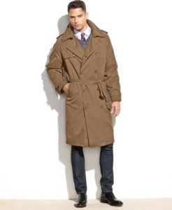Iconic Belted Trench Raincoat