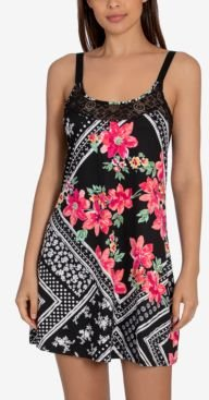Marabel Patch Chemise Nightgown
