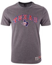 New Era Men's Texas Rangers Pinstripe Crew Top Ii