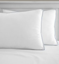 Cool Fusion Medium Density Standard Bed Pillow with Cooling Gel Beads, Created for Macy's
